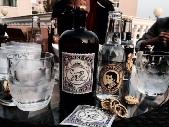 [超優琴湯尼套組]- 猴子47琴酒+湯瑪士亨利通寧水