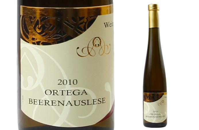 超優質德國BA等級貴腐酒 - 芙蕾酒莊Ortega BA 2010