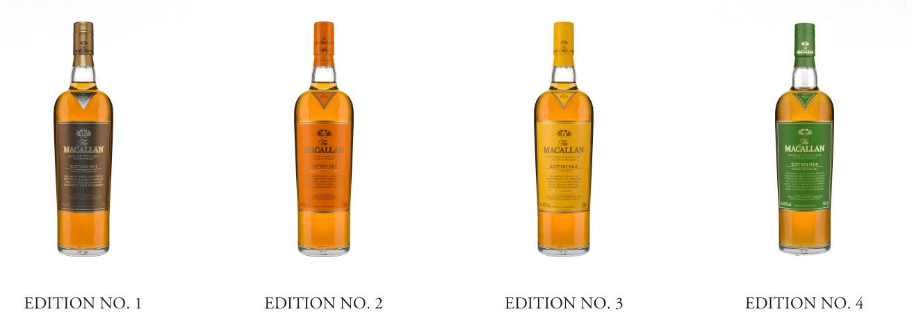麥卡倫The Edition系列每一年都會運用獨特的橡木桶組合,打造獨特的威士忌風味