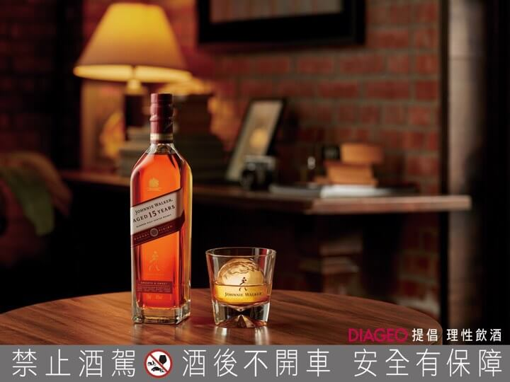 Johnnie Walker 15年封蜜雪莉桶威士忌+大圓冰