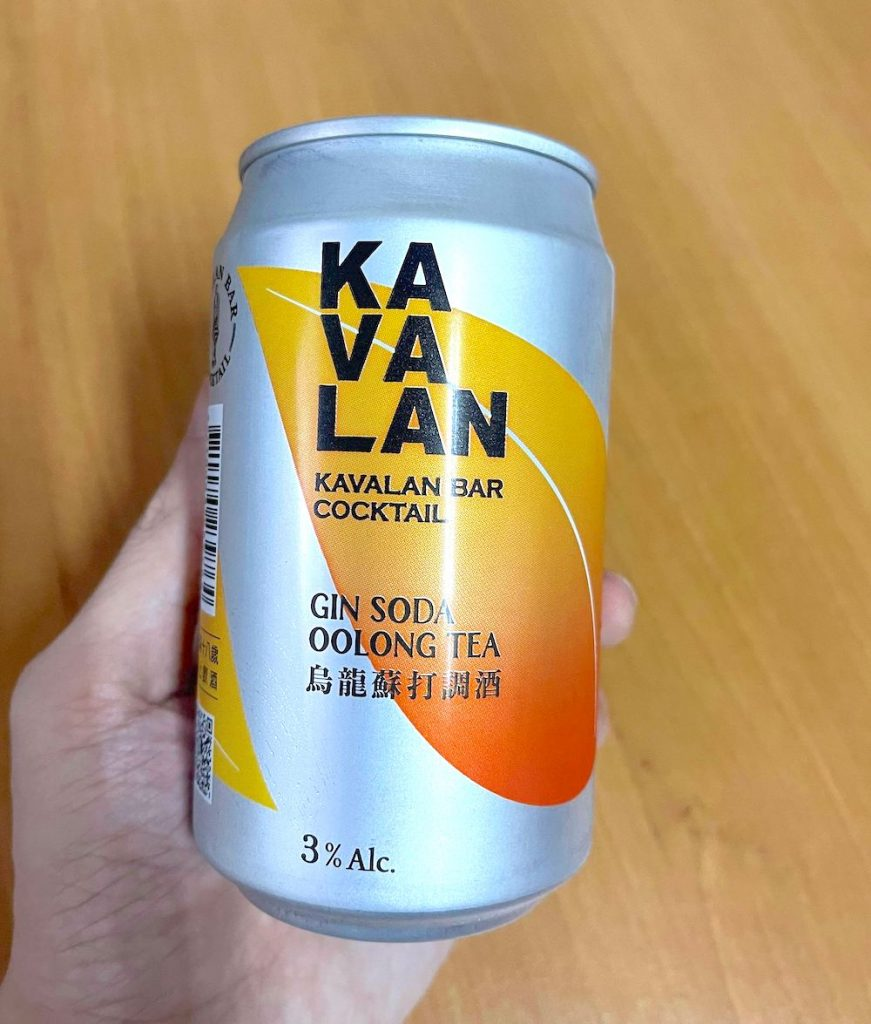 KAVALAN烏龍蘇打調酒 Gin Soda 外觀
