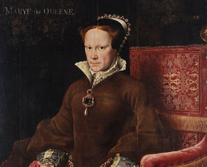 英國女王瑪麗一世肖像畫