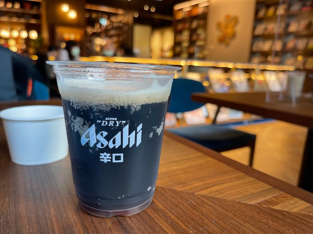Aashi黑啤酒-Tsutaya書店