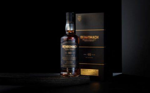 Benromach百樂門40年威士忌