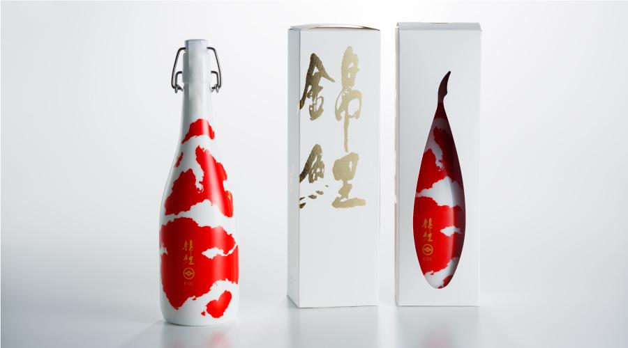 絕不是「金魚酒」! 設計超美,獲得各大設計獎的「今代司 錦鯉 」