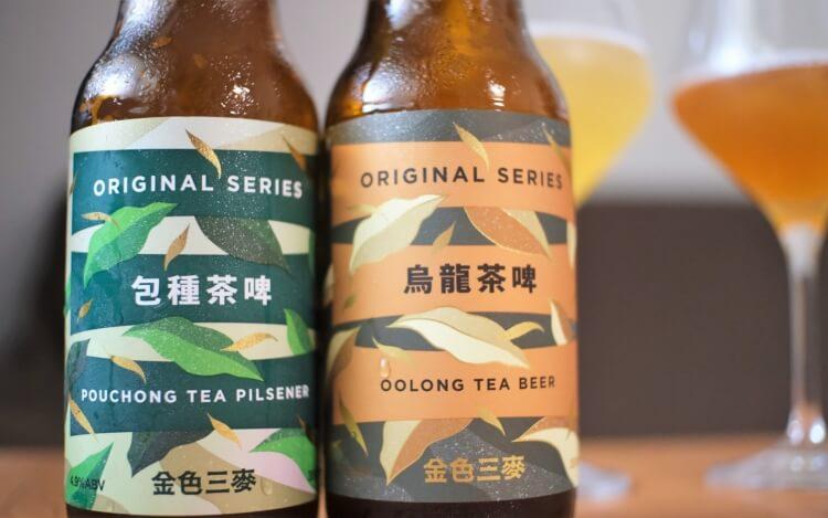 SUNMAI 金色三麥包種茶啤&烏龍茶啤封面