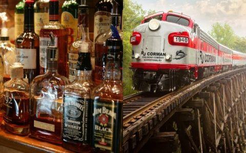 肯塔基波本威士忌列車封面
