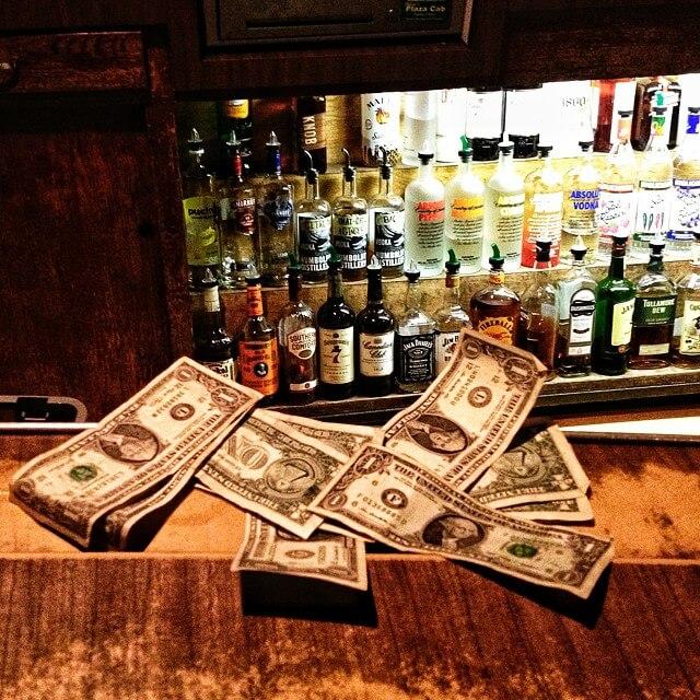 美國酒吧小費