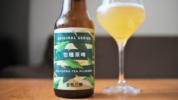 SUNMAI 金色三麥包種茶啤酒