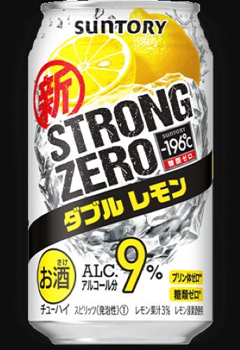 Suntory 新 -196˚C Strong Zero 雙重檸檬