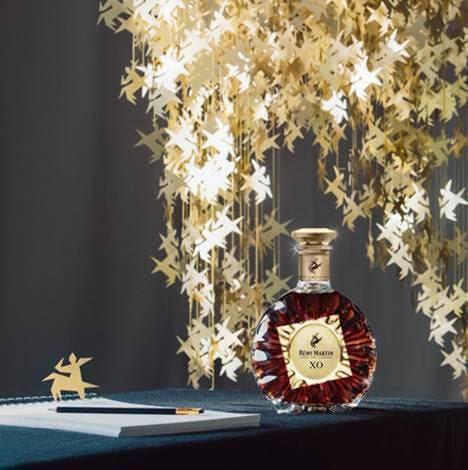 比利時設計師查理斯·凱辛以人頭馬的標誌為靈感,為限量版酒瓶創作的專屬雕塑