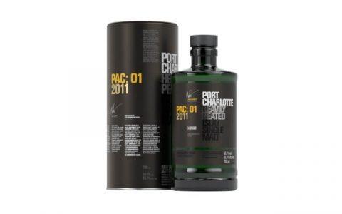 波夏PAC波爾多桶重泥煤艾雷島單一麥芽蘇格蘭威士忌封面